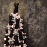 FREE PATTERN - The Crazy Cat Lady Christmas tree