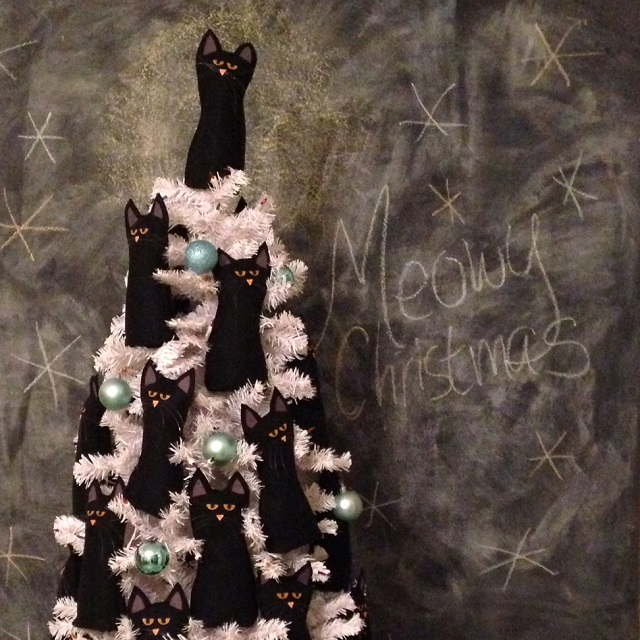 Are Christmas Trees Bad For Cats: The Crazy Cat Lady Christmas Tree