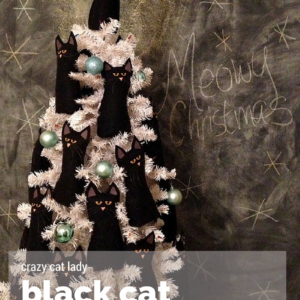 next post the crazy cat lady christmas tree - Black Cat Christmas Tree