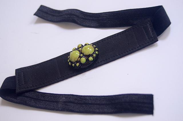 Leather & Elastic Cuff Bracelets - TUTORIAL