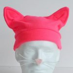 15 Minute Fleece Cat Hat - FREE PATTERN