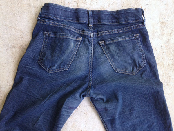 How I earned $120/hour mending my jeans