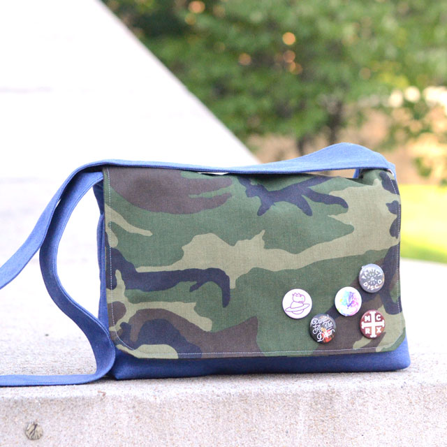 Sew a messenger bag - Campus Messenger Bag tutorial