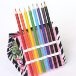 Pencil Holder Easel Pouch - free pattern