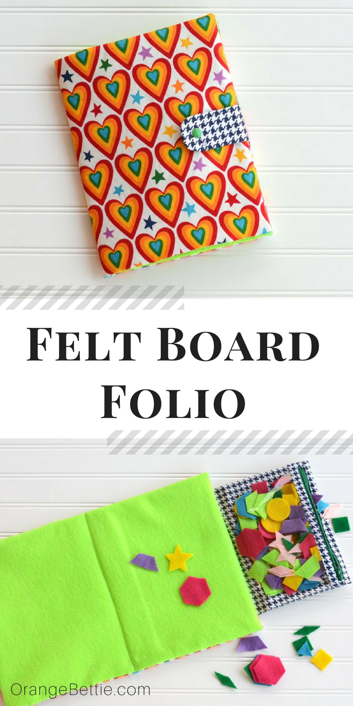 Felt Board Folio for Busy Bags and Quiet Play - Tutorial