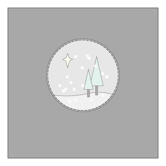 Snow Globe Christmas Pillow - Sewing Tutorial