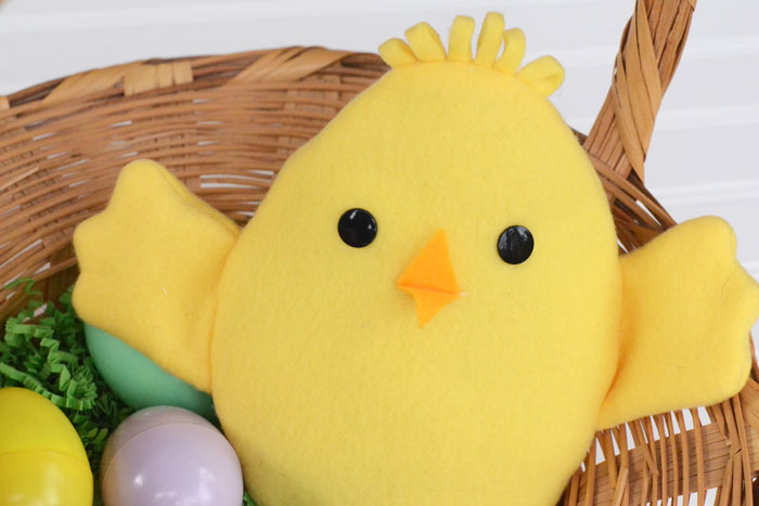 Easter Chick Reversible Softie - Sewing Tutorial