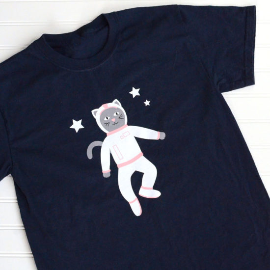 Space Kitty cut file - Free SVG cut file