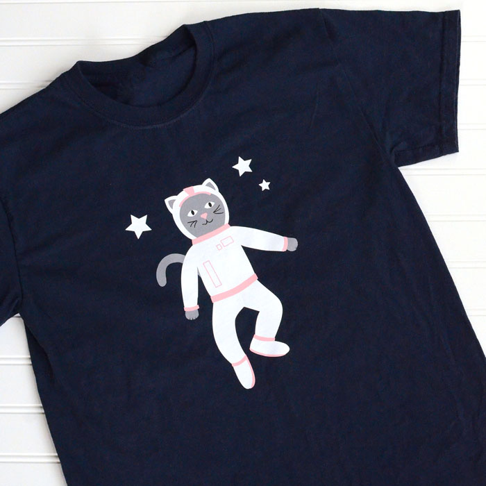 Space Kitty cut file - Free SVG cut file