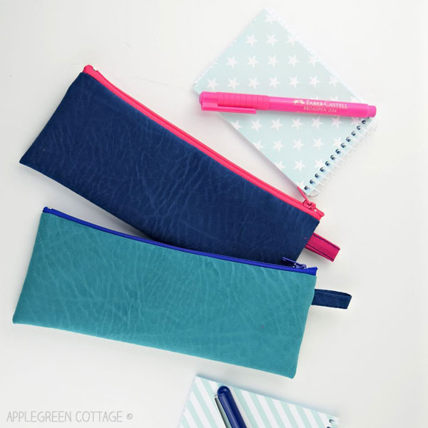 Pencil Pouch by AppleGreen Cottage