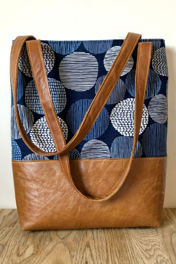 Tote Bag with Tablet Pocket by Vicky Myers Creations