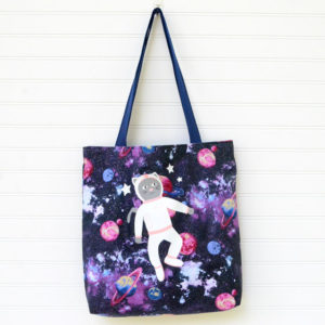 1-Hour Library Tote - Easy Sewing Tutorial