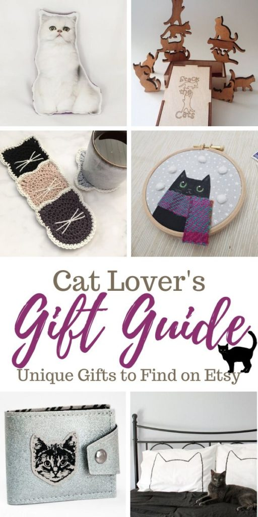 Cat Lovers Gift Guide: Unique Gifts to Find on Etsy
