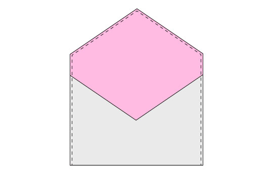 Fabric Gift Card Envelope – Step 4