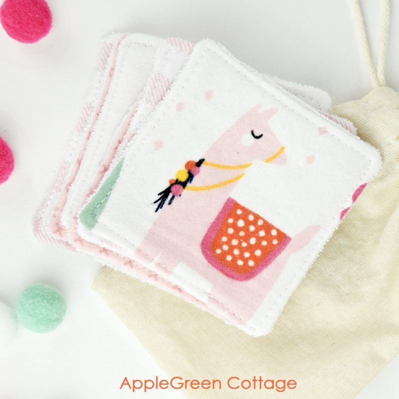 Beginner sewing projects: Quick and easy things to sew - reusable makeup wipes