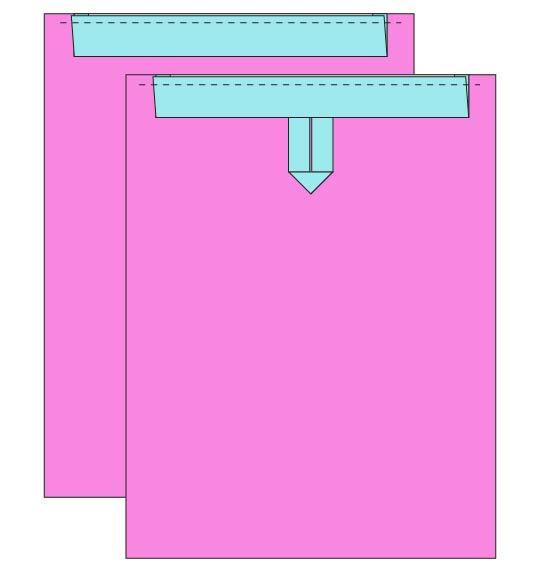 Easy DIY Drawstring Backpack Sewing Tutorial - step 6