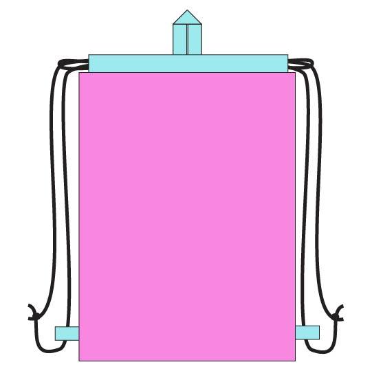 Easy DIY Drawstring Backpack Sewing Tutorial - step 15