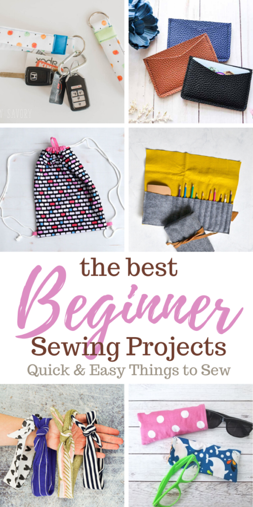 Beginner sewing projects: Quick and easy things to sew
