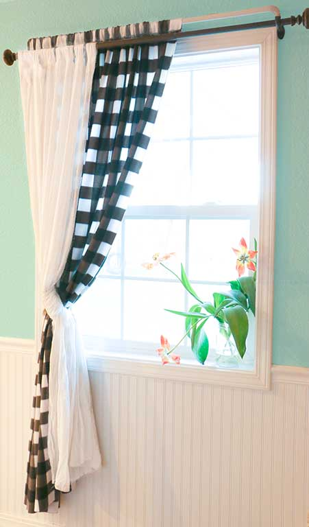 Beginner sewing projects: Quick and easy things to sew - curtains