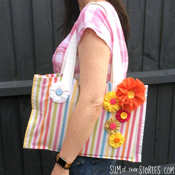 Beginner sewing projects: Quick and easy things to sew - easy tote bag
