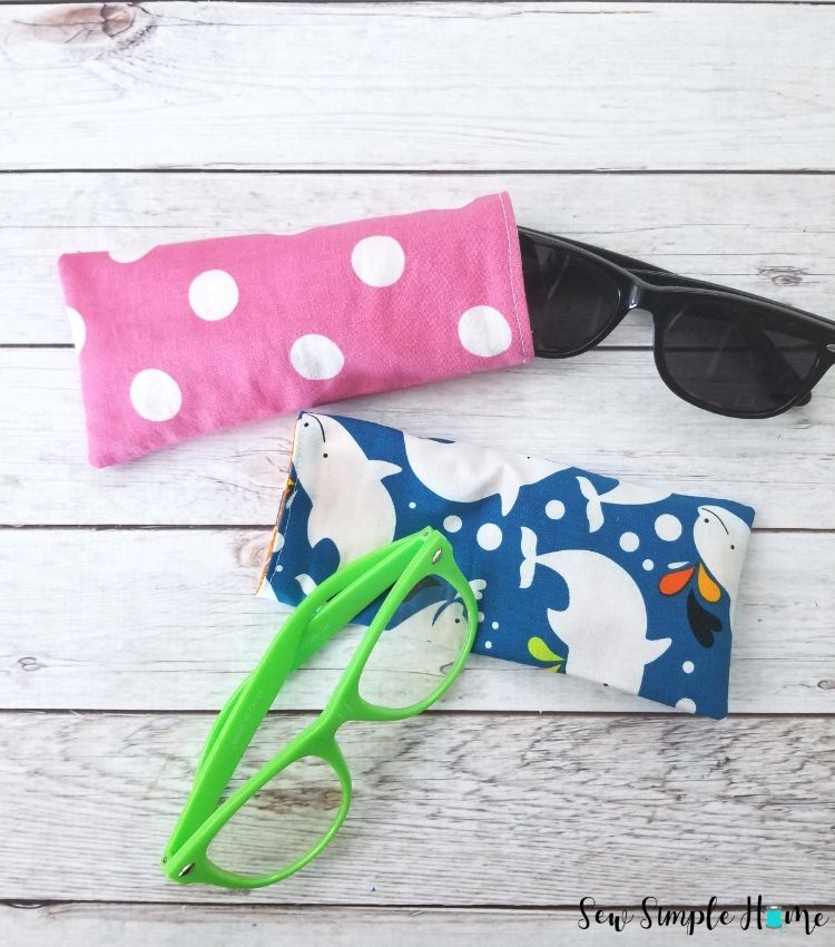Beginner sewing projects: Quick and easy things to sew - glasses case