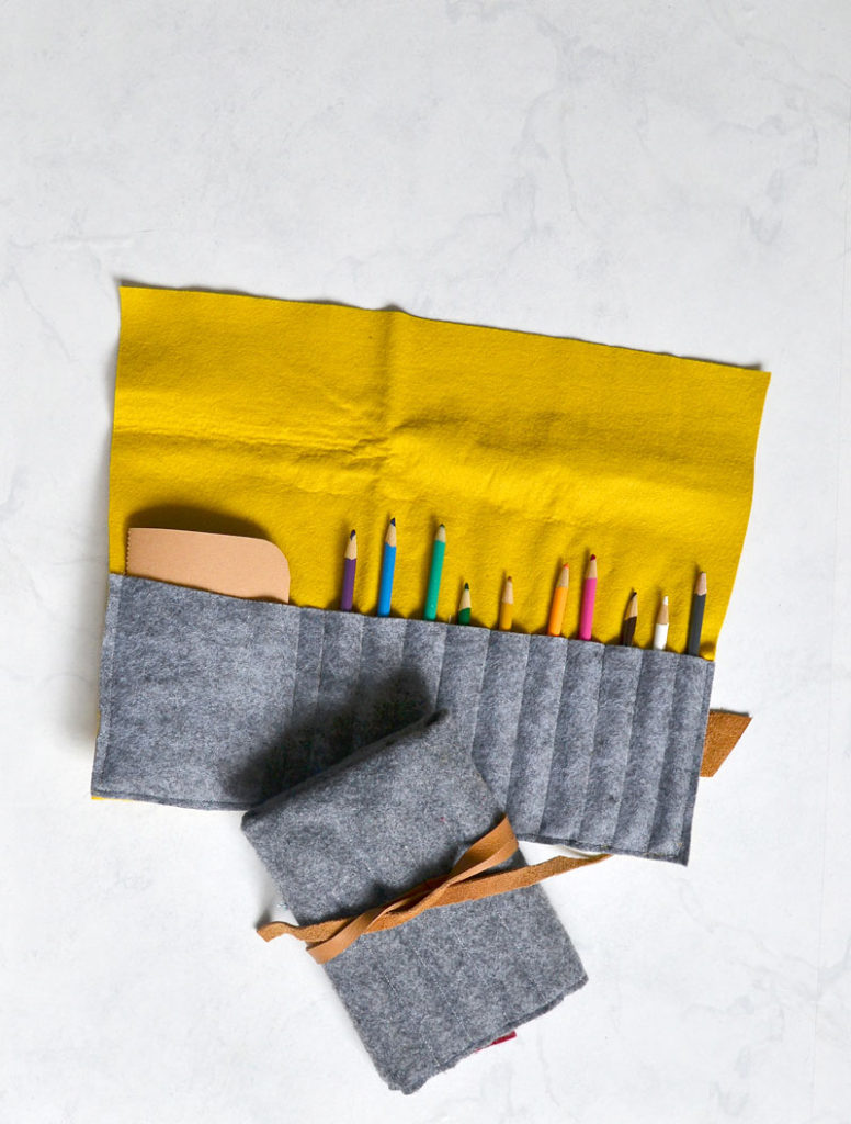 Beginner sewing projects: Quick and easy things to sew - pencil roll