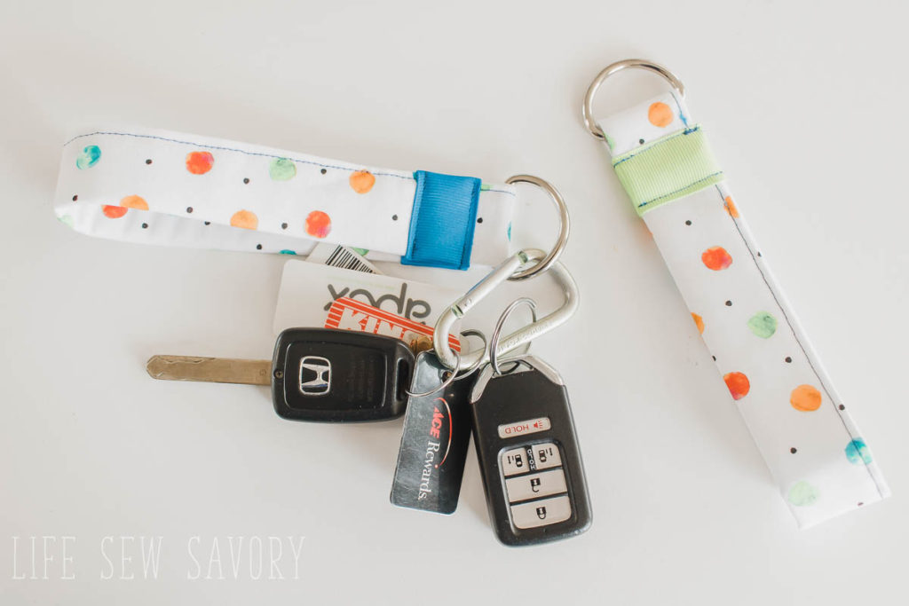 Beginner sewing projects: Quick and easy things to sew - key fob