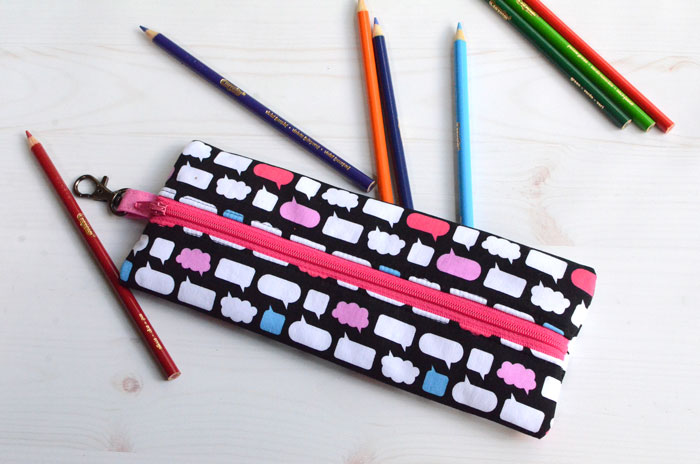 How to Sew a Pencil Case – Easy Sewing Tutorial