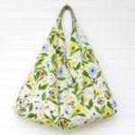 Tea Towel Origami Bag - Easy Sewing Tutorial