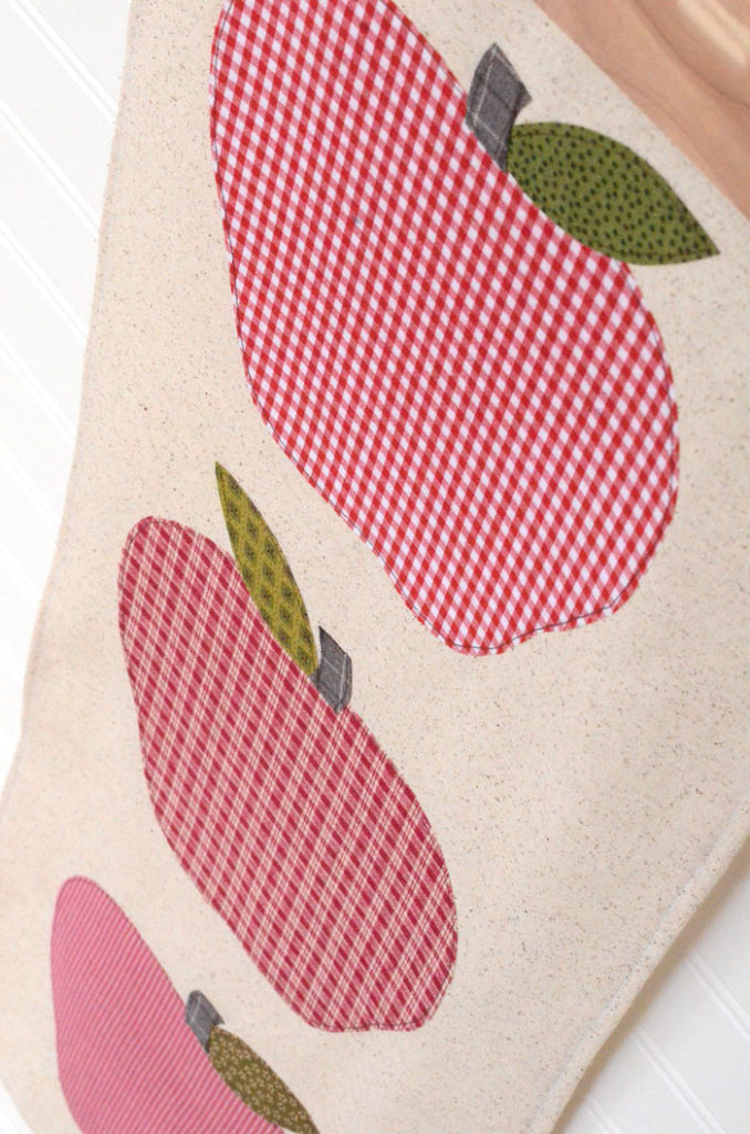 Fall apple banner by Orange Bettie