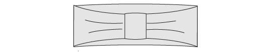 Faux Fur Ear Warmer Headband Tutorial - Step 6
