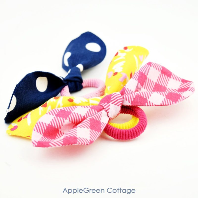 DIY Hair Ties by AppleGreen Cottage