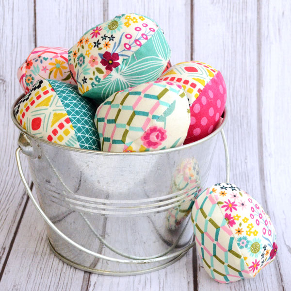 Soft Fabric Easter Eggs by Orange Bettie