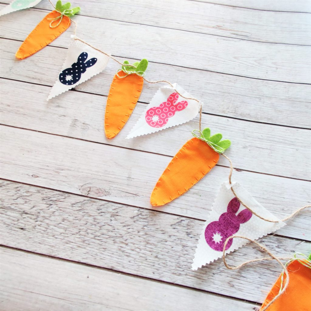 Bunny Bunting Pattern by Sew Simple Home