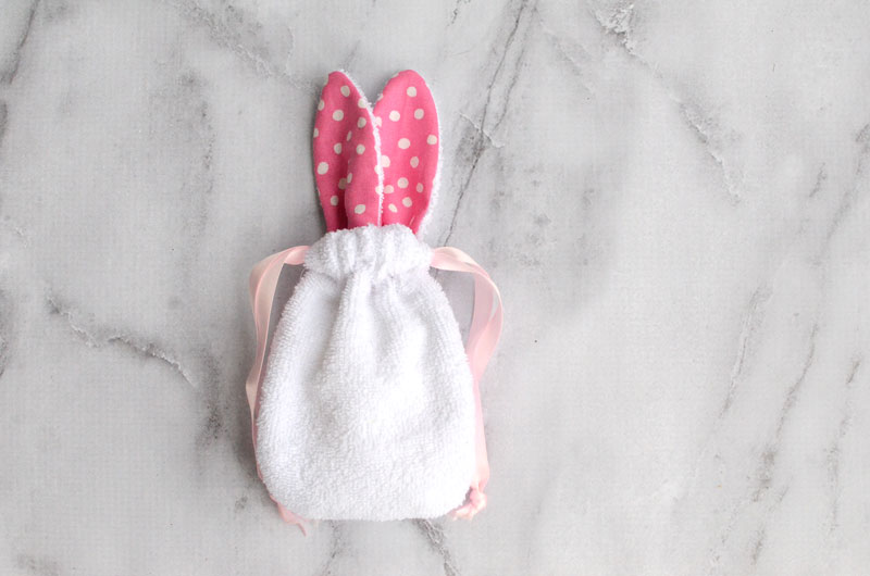 Sudsy Bunny DIY Soap Pouch - Free Sewing Pattern