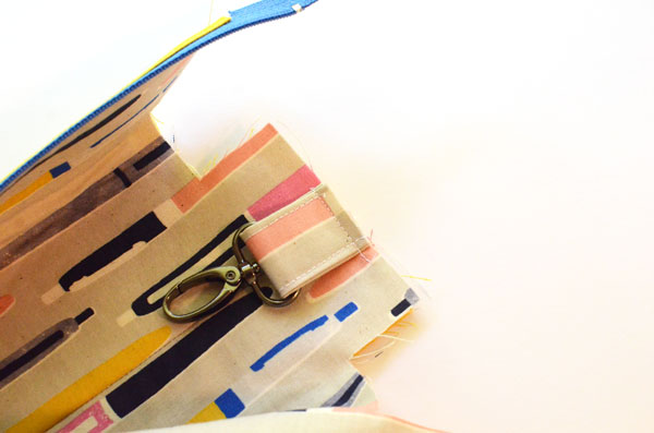 Boxy Pencil Pouch, step 11