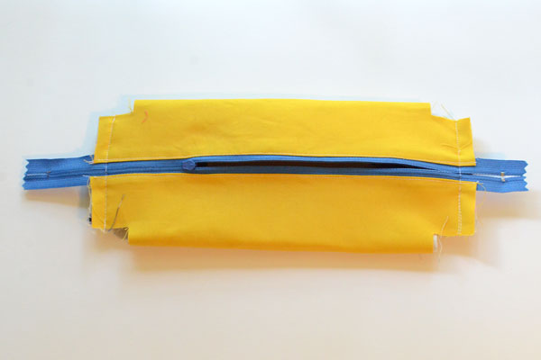 Boxy Pencil Pouch, step 13