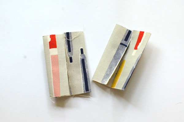Boxy Pencil Pouch, step 2