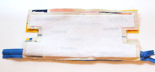 Boxy Pencil Pouch, step 5