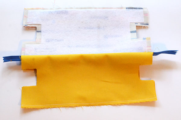 Boxy Pencil Pouch, step 7