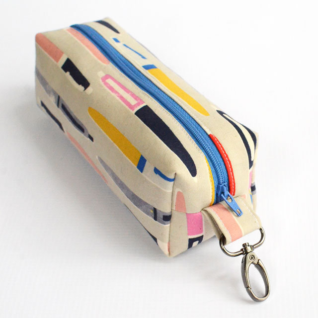Boxy Pencil Pouch Free Sewing Pattern