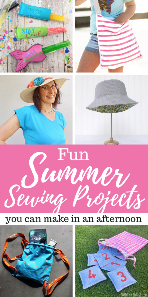 Fun Summer Sewing Projects to Make in an Afternoon